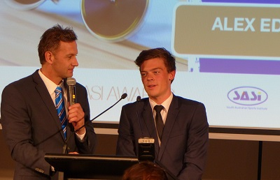 Alex Edmondson SASI Awards 2014 Adelaide Oval